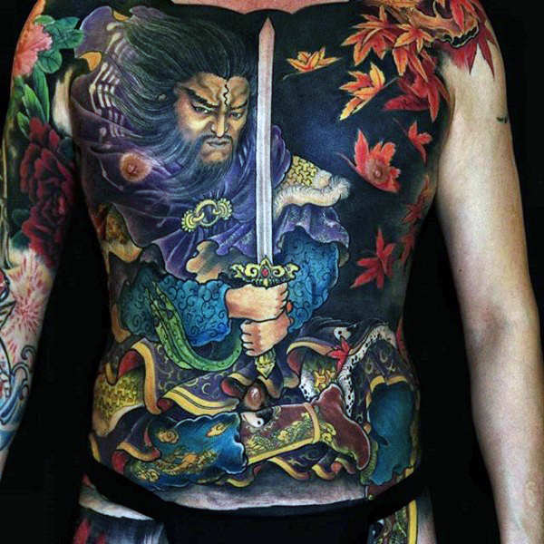 Incredible Chinese Tattoos