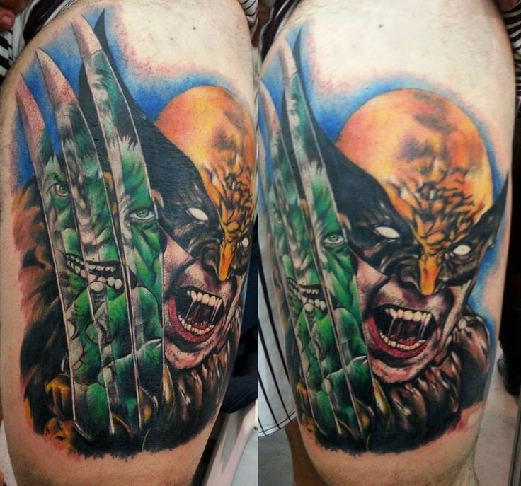 Incredible Comic Tattoo Designs