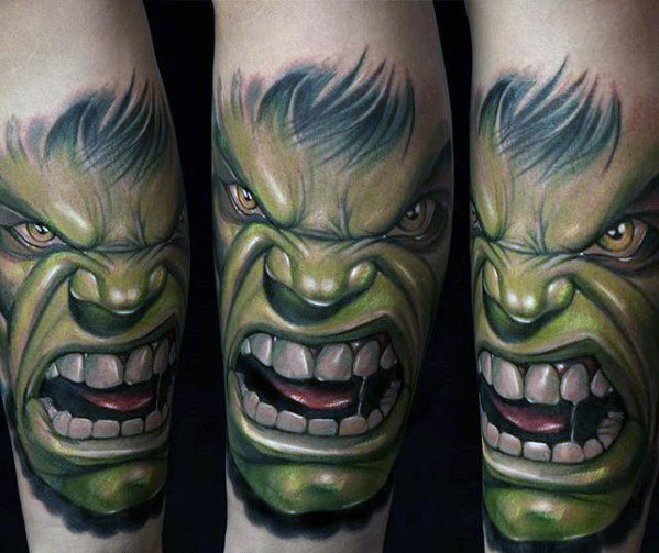 Incredible Comic Tattoos Designs