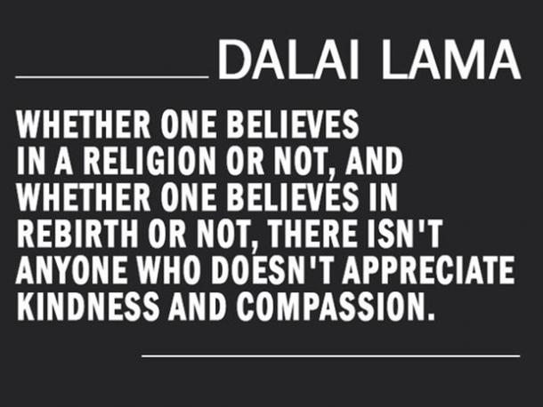 Incredible Dalai Lama Quotation