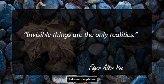 Incredible Edgar Allan Quotations and Sayings