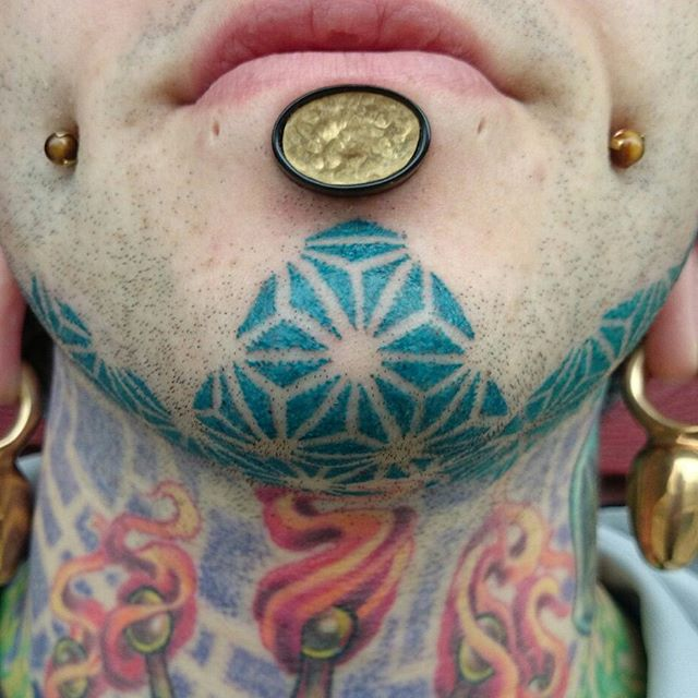 Incredible Face Tattoo Designs