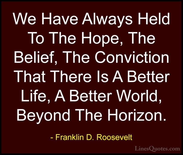 Incredible Franklin D Roosevelt Sayings