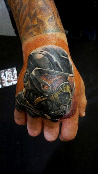 Incredible Hand Tattoos Designs