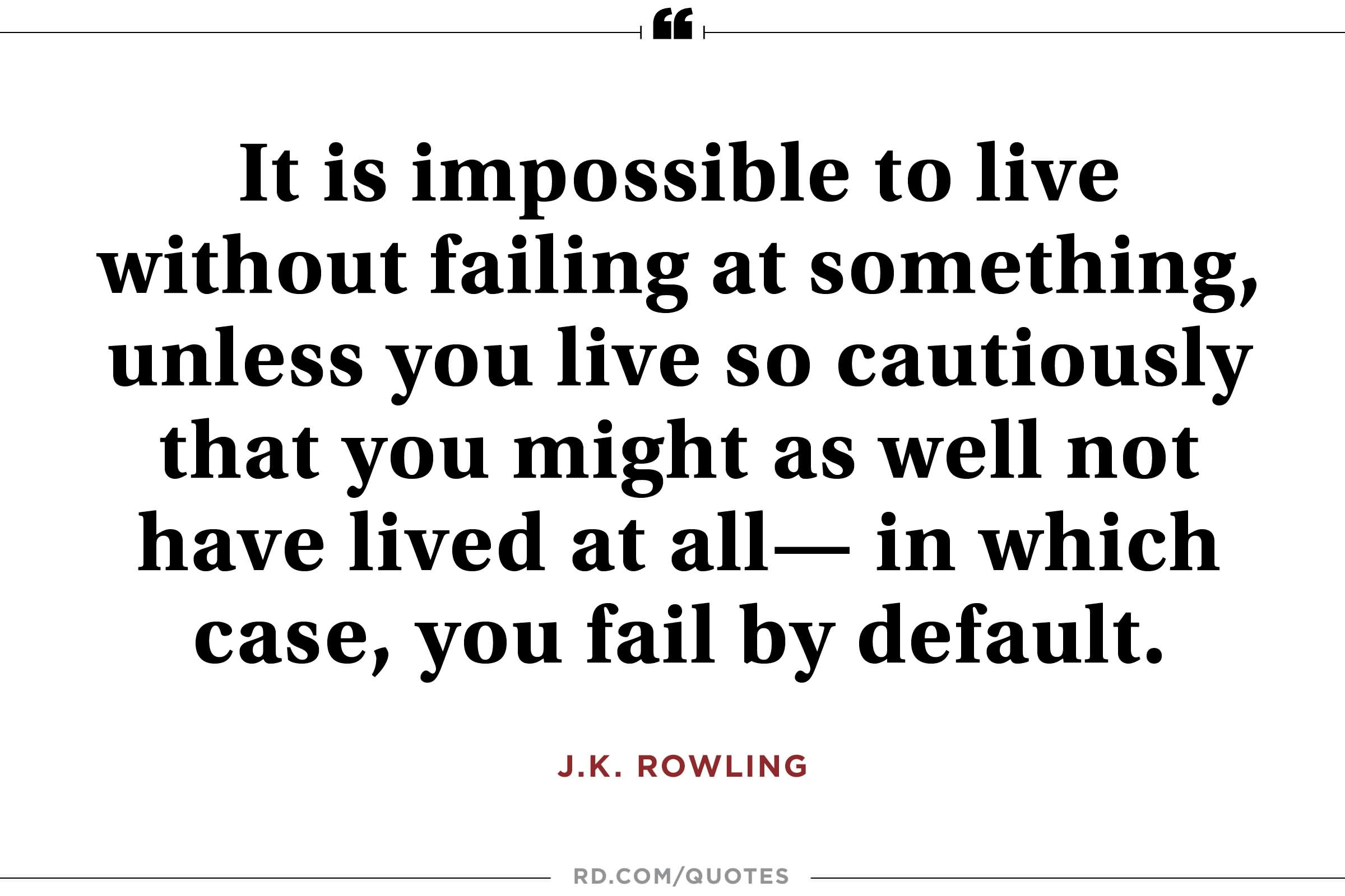 Incredible J K Rowling Quotes