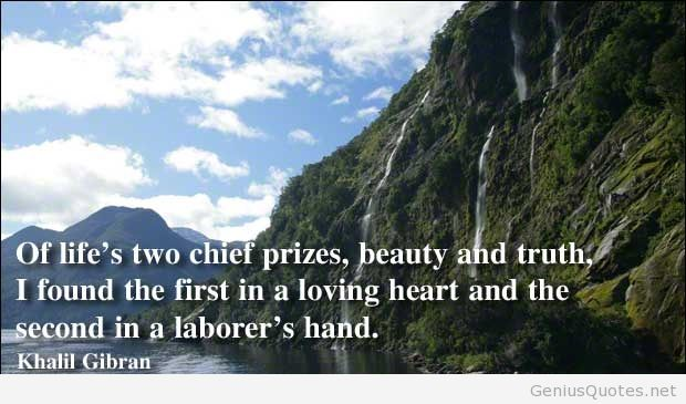 Incredible Khalil Gibran Quotations