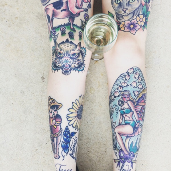 Incredible Leg Tattoo