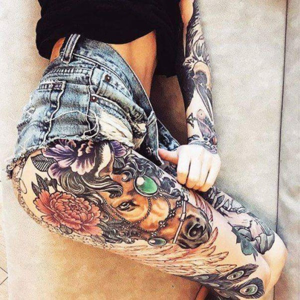 Incredible Leg Tattoos