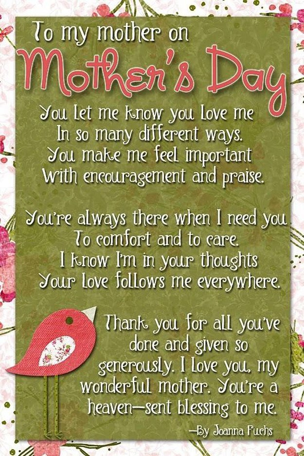Incredible Mothers Day Quotes