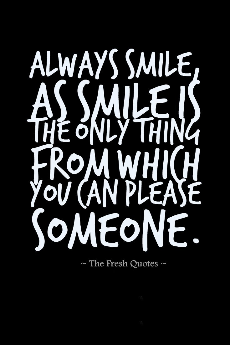 Incredible Smile Quotes