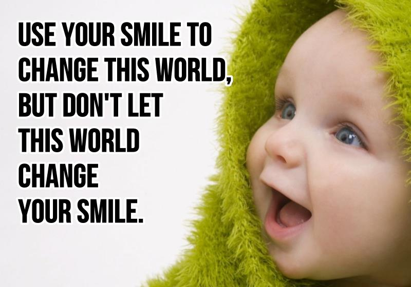 Incredible Smile Sayings