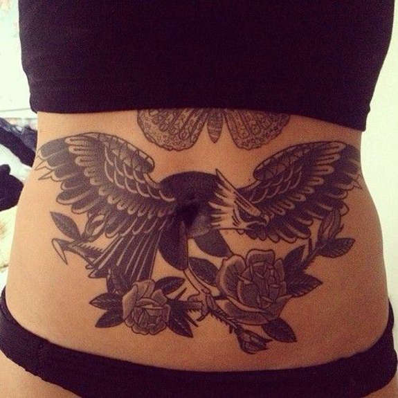 Incredible Stomach Tattoo Designs
