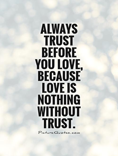 Incredible Trust Quotations
