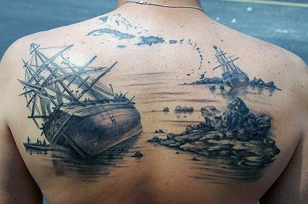 Incredible Upper Back Tattoo