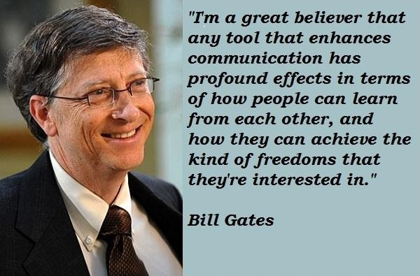 Latest Bill Gates Sayings
