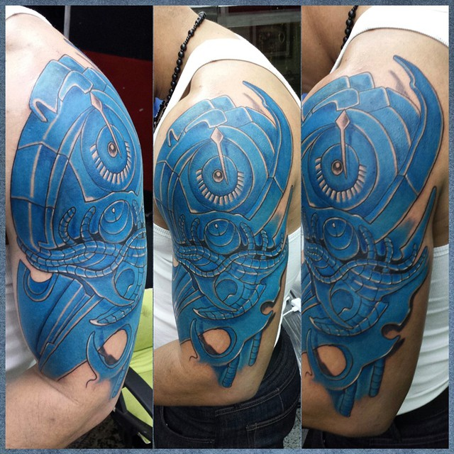 Latest Biomechanical Tattoos