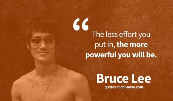Latest Bruce Lee Quotations and Sayings