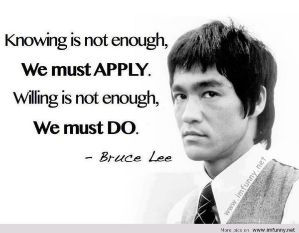 Latest Bruce Lee Quotations