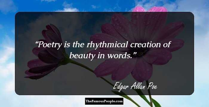 Latest Edgar Allan Quotation and Sayings