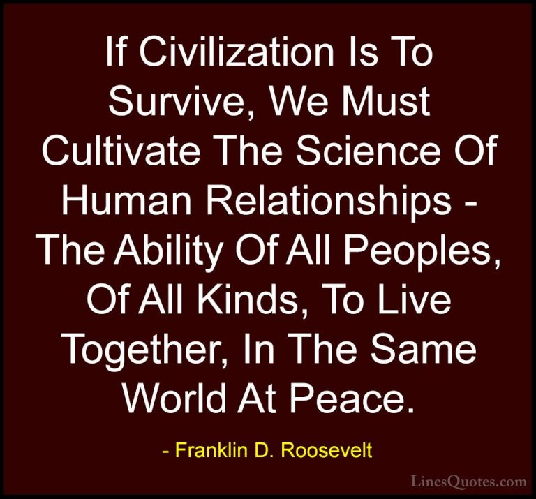 Latest Franklin D Roosevelt Quotes