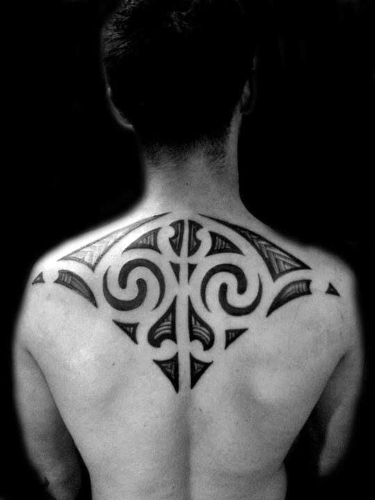 Latest Upper Back Tattoo Designs