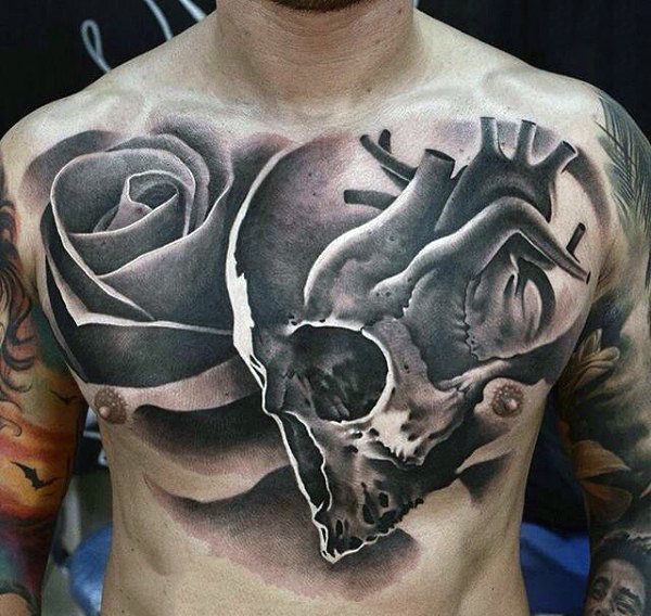 Marvelous Abstract Tattoo