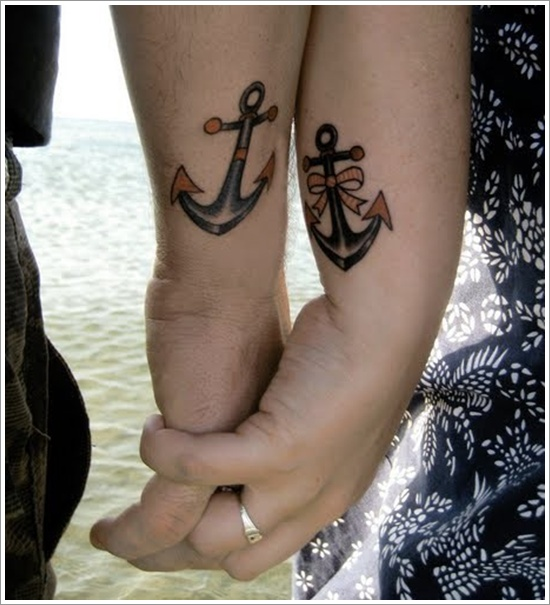Marvelous Anchor Tattoos