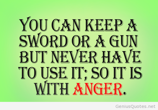 Marvelous Anger Quotes