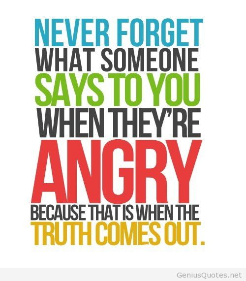 Marvelous Anger Sayings