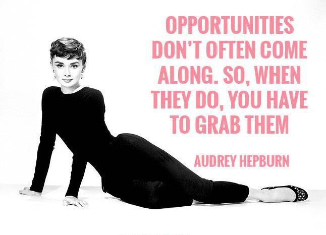 Marvelous Audrey Hepburn Quotation