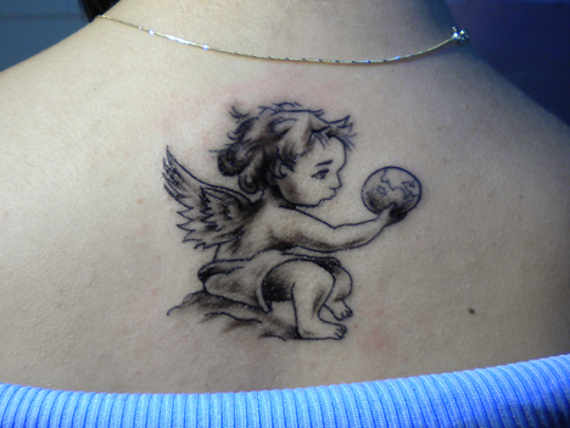 Marvelous Baby Tattoos Designs