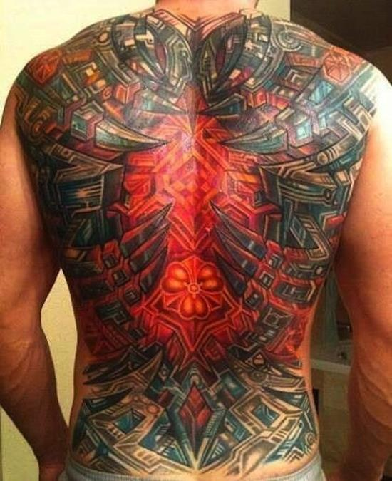 Marvelous Biomechanical Tattoos Designs