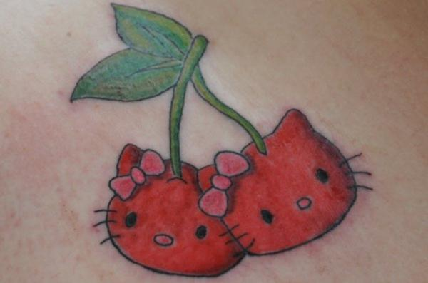 Marvelous Cherry Tattoos Design