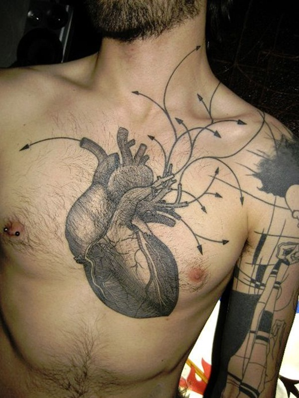 Marvelous Chest Tattoos