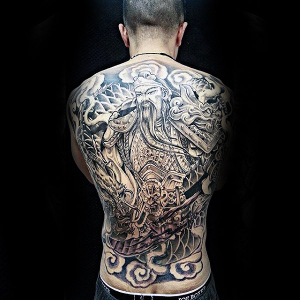 Marvelous Chinese Tattoo