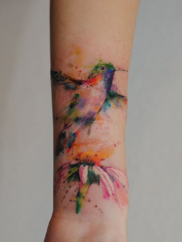 Marvelous Colorful Tattoos Designs