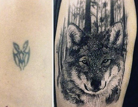 Marvelous Cover Up Tattoo