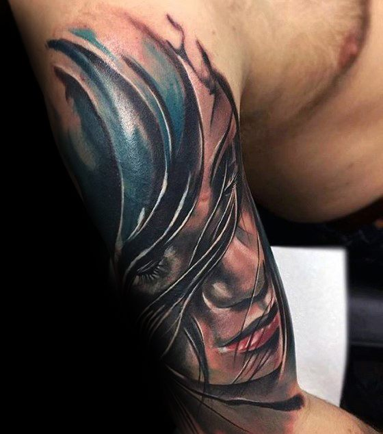 Marvelous Cover Up Tattoos Design