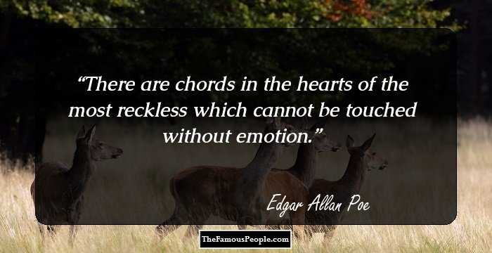 Marvelous Edgar Allan Quotations and Sayings