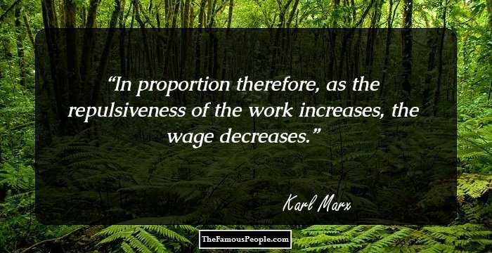 Marvelous Karl Marx Sayings