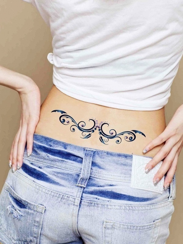 Marvelous Lower Back Tattoo