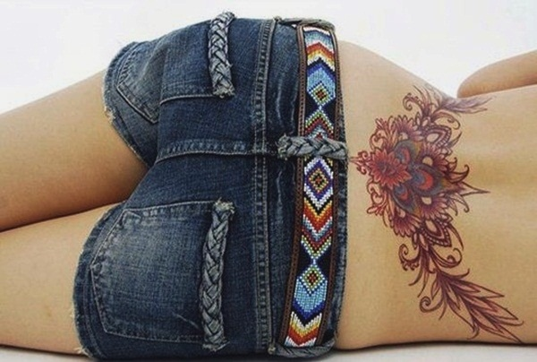 Marvelous Lower Back Tattoos Designs