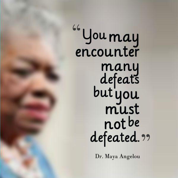 Marvelous Maya Angelou Quotations and Sayings