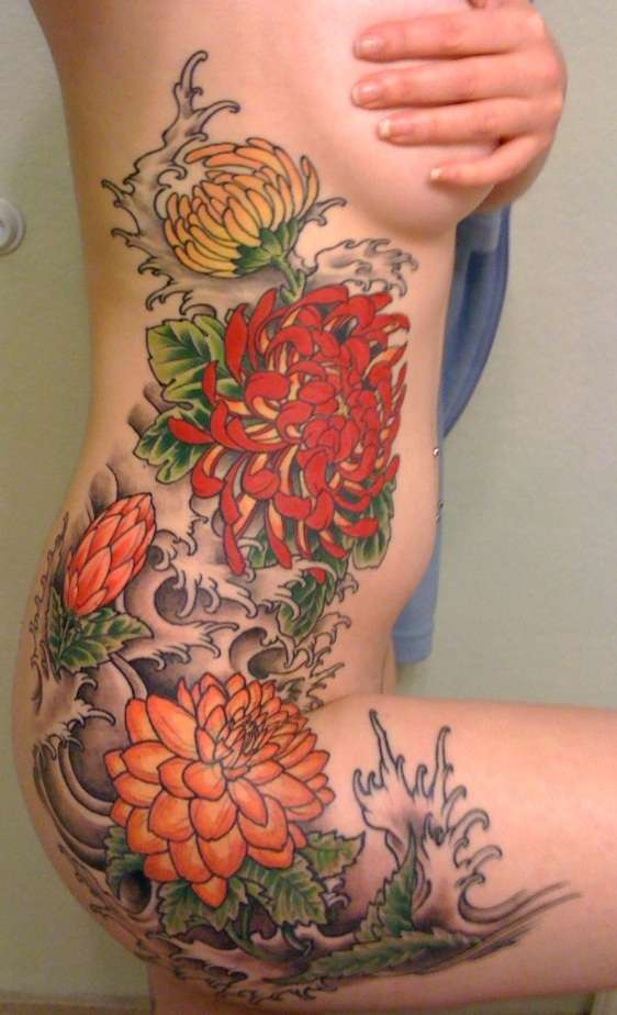 Marvelous Side Tattoo Designs