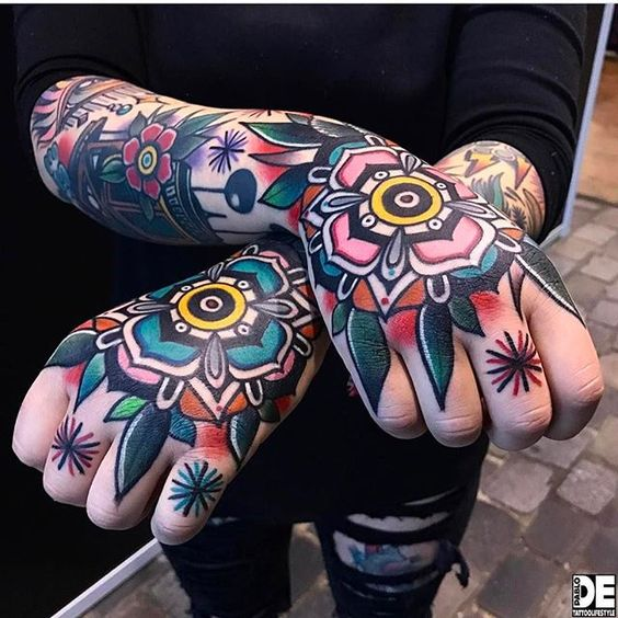 Marvelous Sleeve Tattoo