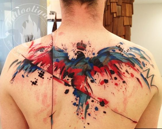 Marvelous Upper Back Tattoo Designs