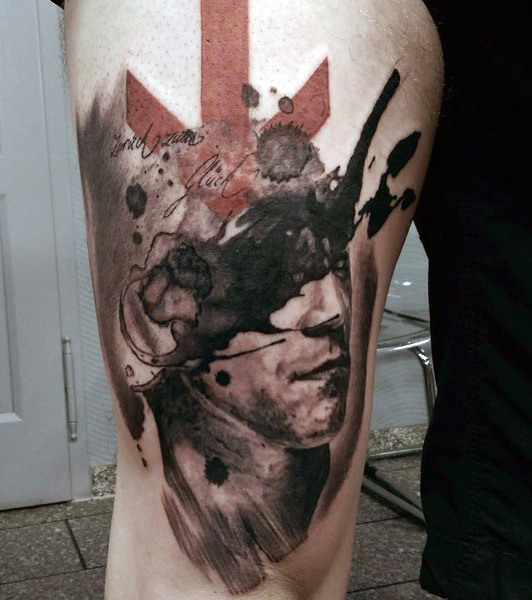 Mind Blowing Abstract Tattoo