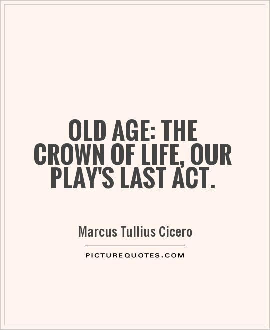Mind Blowing Age Quotation