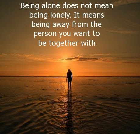 Mind Blowing Alone Quotations