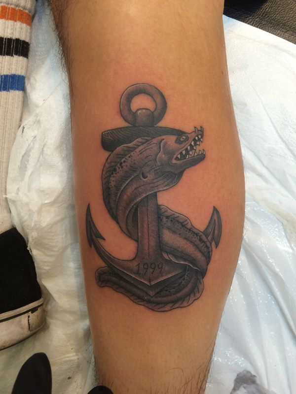 125 stunning anchor tattoos with rich meaning - 600×800